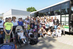 Ferienfahrt des Familienzentrums Grünhöfe